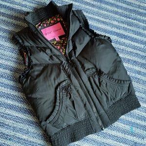 Betsey Johnson Down Filled Puffer Vest